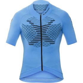 X-Bionic Twyce Fietsshirt korte mouwen Heren blauw